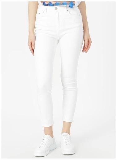 Aeropostale Aeropostale Beyaz Denim Pantolon Beyaz
